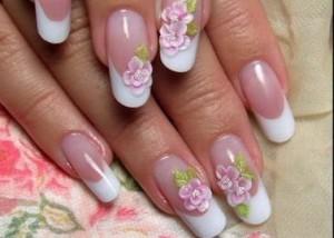 китайская роспись наращивание ногтей